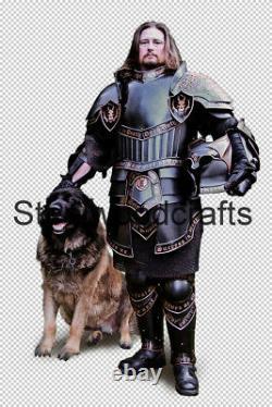 18 Gauge Steel Medieval Knight Heerführer Elves Full Suit Of Armor