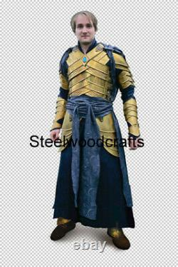 18 Gauge Steel Medieval Knight Prince Of The Elves Full Suit Of Armor Cuirass