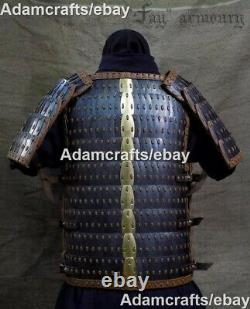1mm Steel Medieval Scale Armor Lamellar Armor Knight Suit With Shoulder