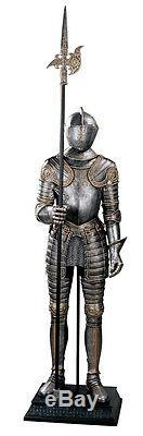 6 ft Medieval Italian Knight Armor Suit 16th Century replica reproduction