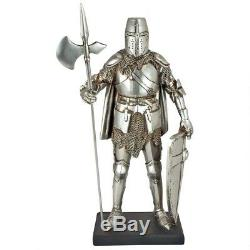 Ancient Medieval Guard Gothic Knight 14th-Century Italian Suit of Armor