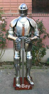 Antique Armor Crusader Full Suit Of Armor Medieval Wearable Knight Body Armor