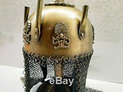 Antique Vintage Style Replica Armour Helmet Viking Medieval Knight Suit Helmet