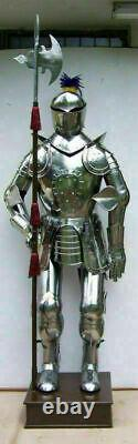 Armor Crusader Full Suit Of Armor Medieval Wearable Knight Body Armor Halloween