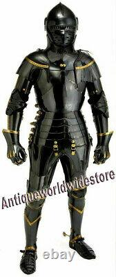 Armor Knight Suit Of Combat Full Body Armour Medieval Wearable