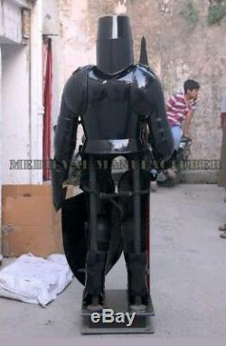 Armour Medieval Wearable Knight Crusader Full Suit Of Armor Collectible Costume