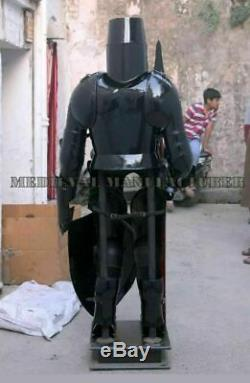 Armour Medieval Wearable Knight Spartan Crusader Full Suit Of Roman Costume Prop