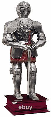 Authentic Medieval Knight Carlos V Spanish Full Suit of Armor