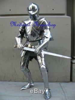 Collectibles Medieval Knight Suit Of Armor Wearable Century Combat Full Body Arm
