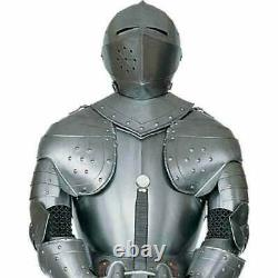 Full Body Armor Suit Medieval Knight Suit of Armour 15th Century Combat Sword
