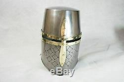 Full Size 6 Feet Knights Templar Suit Of Armour Medieval Roman Armor Statue