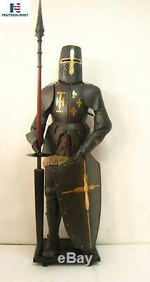 Full Suit Of Armor Medieval Collectible Costume Wearable Greek Knight Crusader