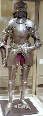 German Armor Suit Medieval Full Size Wearable Templar Knight Suit