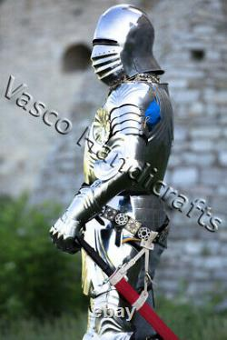 Gothic Armor Knight Wearable Armor Suit Heavy Armor Larp Cosplay Costume