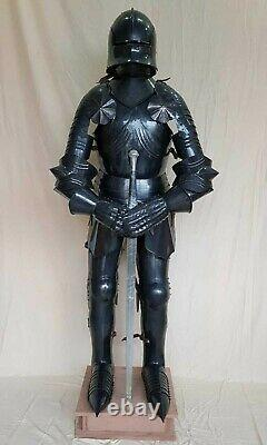 Gothic Medieval Knight Suit Of Armour Combat Full Body Armour decor Replica