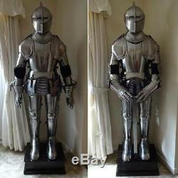 Halloween Armour Medieval Wearable Knight Crusader Full Suit Of Armor Collectibl