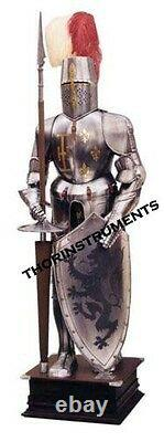 Knight Full Suit 15th Century Combat Body Medieval Wearable Armor Suit