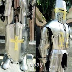 Knight Suit Of Toledo Armor Combat Full Body Armour WITH Base Halloween Replica