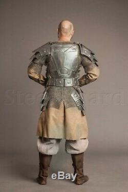 MEDIEVAL Knight Dwarf Full Armor Suit With Cuirass/Shoulder/Belt/Bracers/Greaves
