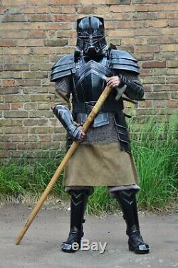 MEDIEVAL Knight MORIA Full Armor Suit LOTR Medieval Full Suit Of Armor Costume
