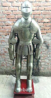 Medieval Armor Suit Polish Hussar Knight Armor Costumes Wearable Full Body Suit