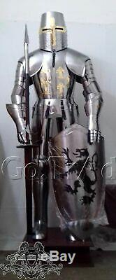 Medieval Combat Full Body Armour Medieval Knight Suit Adult Cosplay Costumes