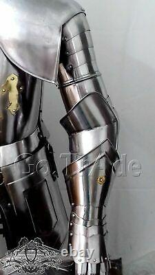 Medieval Combat Full Body Armour Medieval Knight Suit adult costumes gift item