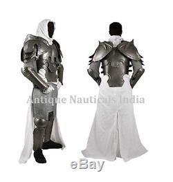 Medieval ConQuest Cuirass Armor LARP Reenactment Suit of Armor Knight 18 Ga
