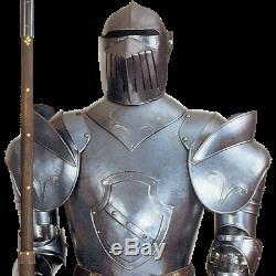 Medieval Display Italian Knight Full Suit Of Armor Combat Full Armor Suit