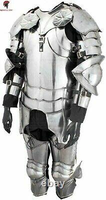 Medieval Epic Knight LARP Suit Of Armor Gothic wearable Suit Of Armor costume