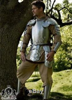 Medieval Full Armour Suit Warrior Larp Armor Knight Collectible Reproduction 18g