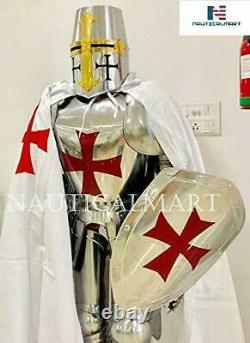 Medieval Full Suit 15TH Century Combat Body Armour Wearable Knight Halloween Sui