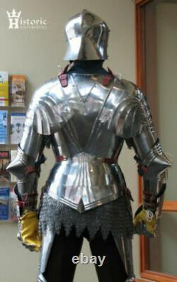 Medieval Full Suit Of Armor Gothic Style Cuirass Knight Warrior Fighting Armor