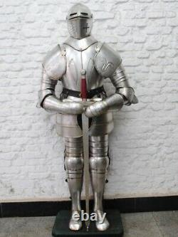 Medieval Full Suit of Spanish knight armor suit Ancient Full Body Arm 18g