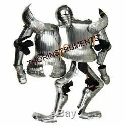 Medieval Fully Wearable Knight Maximillian Full Suit of Armor With Sword/Shield Wa