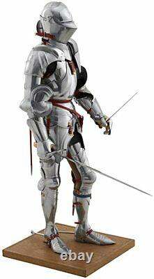 Medieval Gothic Armour Suit Combat Knight Crusader Wearable Larp Suit of Armor