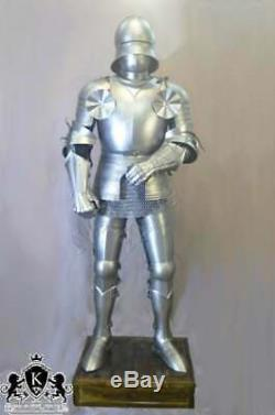 Medieval Gothic Knight Wearable Full Suit of Armor Collectible Halloween Costume