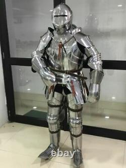 Medieval Knight Armor Suite Metal Plates Armor Suit Battle ready Life Size Armor