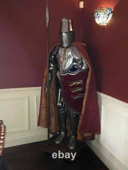 Medieval Knight Christmas Gift Suit Of Armor Crusader Combat Full Body Armour
