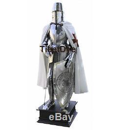 Medieval Knight Crusador Templar Toledo Full Suit Of Armor Replica