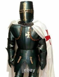 Medieval Knight Full Body Armour With Shield & Sword 15th Century Suit of Armor