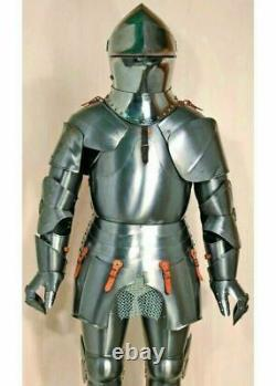 Medieval Knight Full Body Armour suit Halloween Gift Item Battle Ready Armor