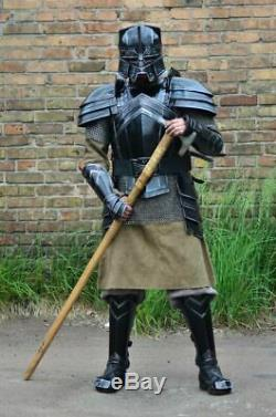 Medieval Knight Full Suit Of Armor Sca Larp Combat MORIA Lord Of The Ring