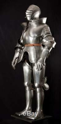 Medieval Knight Full Suit of Armor Larp Reproduction Wearable Costume Replica