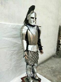 Medieval Knight Fully Wearable 300 Kings-guard Body Armor Suit Christmas Gift