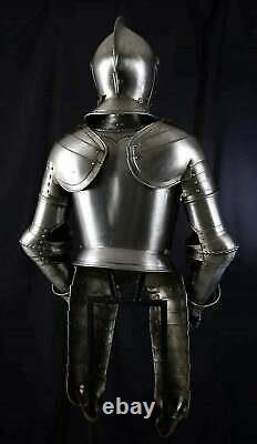 Medieval Knight Plate Armour Suit Battle Warrior Replica Gothic Armor Suit