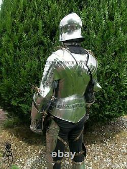 Medieval Knight SCA LARP Gothic Full Body Armor Suit Cuirass Best Halloween Gift
