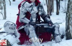 Medieval Knight Suit Armour Full Wearable Body Armor 18 Ga Steel Armor Costume