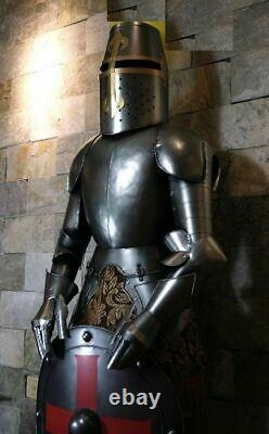 Medieval Knight Suit Of Armor 17th Century Combat Full Body Armour Suit WithShield