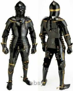 Medieval Knight Suit Of Armor Combat Full Body Antique Armour Costume
